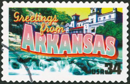 Arkansas Stamp.